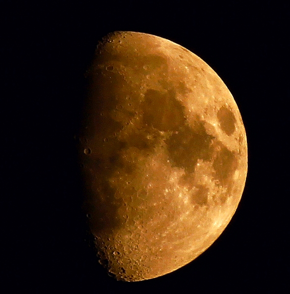 Der Mond am 21.03.2013
