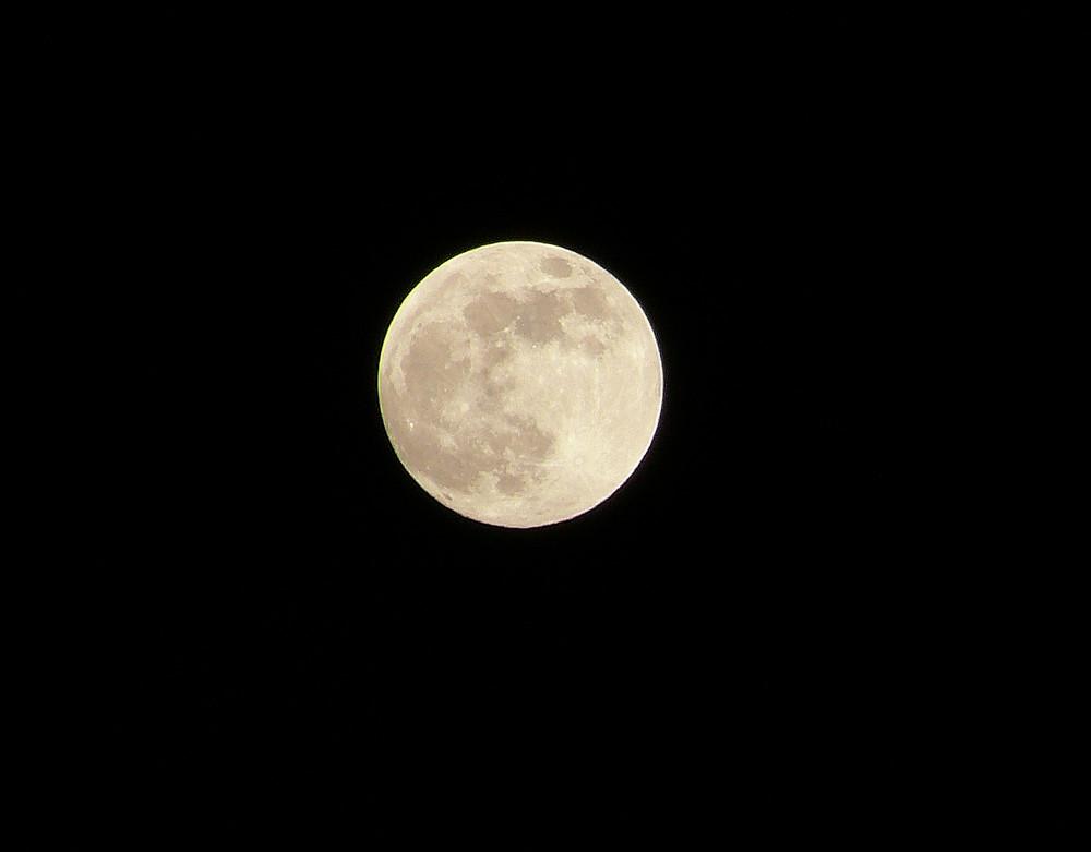 Der Mond am ..