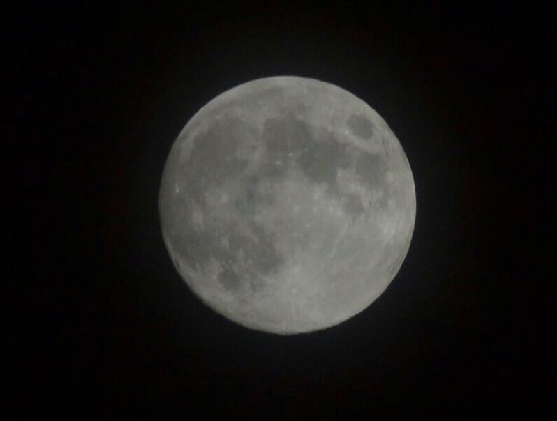 Der Mond aus Sicht der Türkei