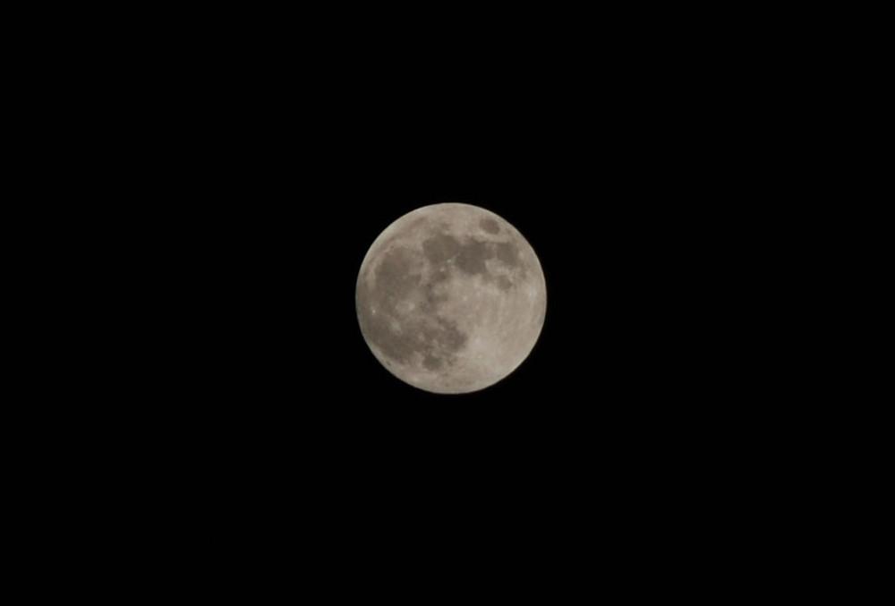 Der Mond - ganz schön groß 1/1000