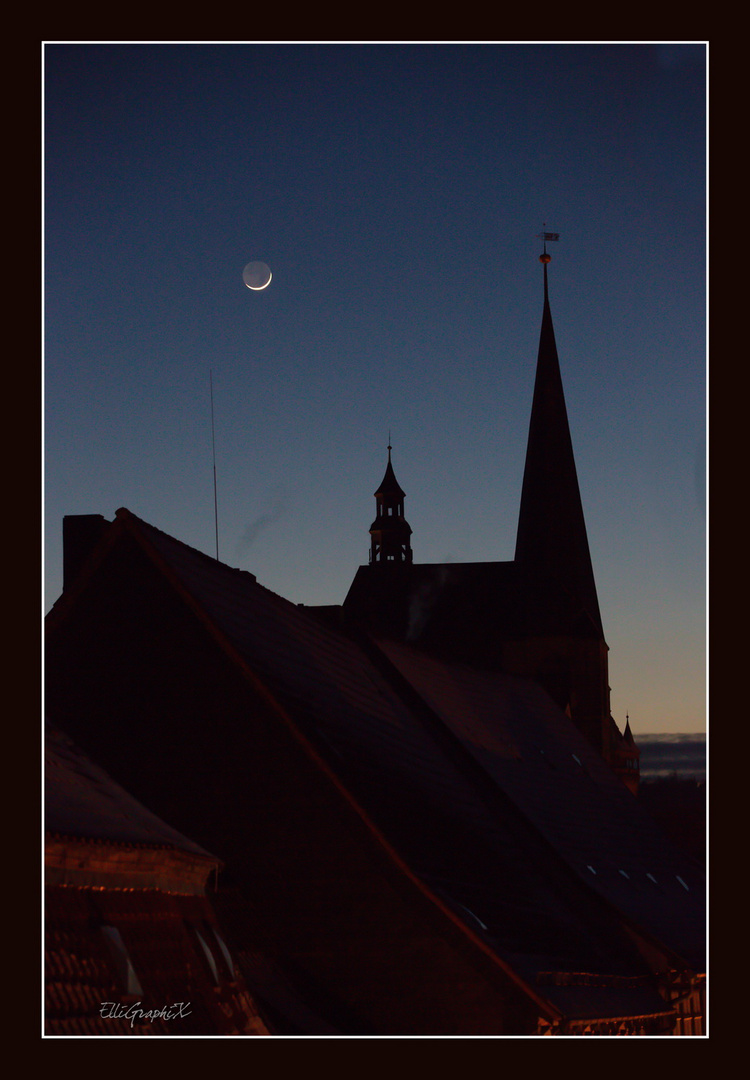 der Mond geht auf ....