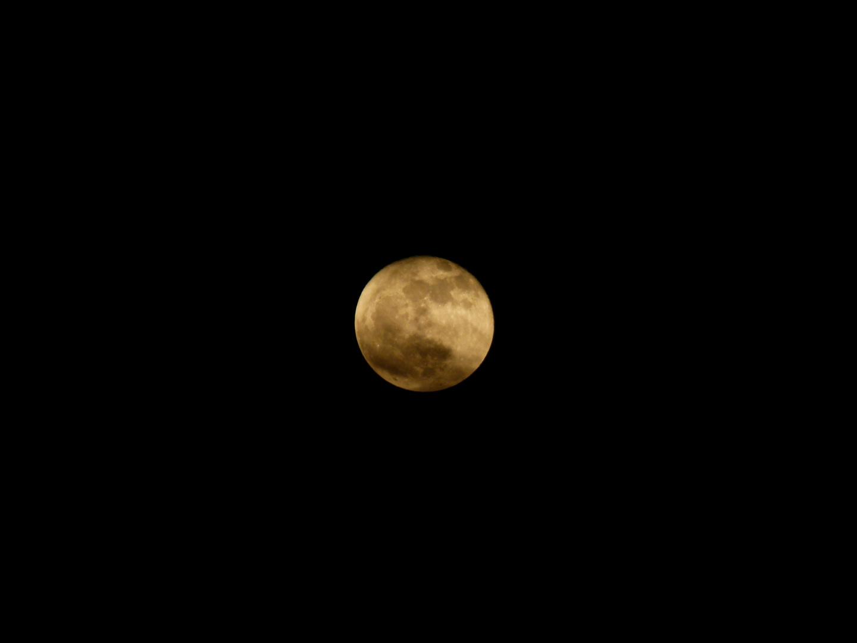 Der Mond in seiner vollen Pracht