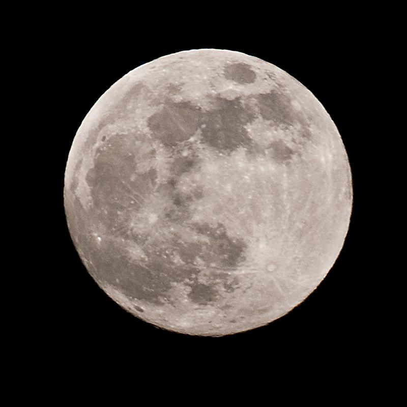 der Mond ist aufgegangen ...