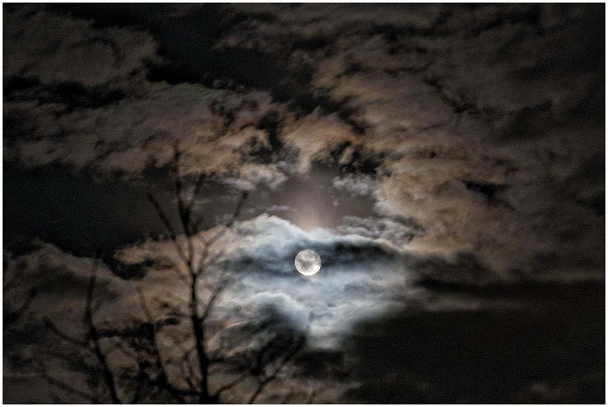 Der Mond ist aufgegangen!
