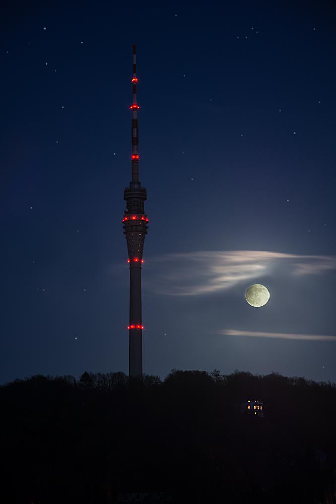 Der Mond ist aufgegangen.....