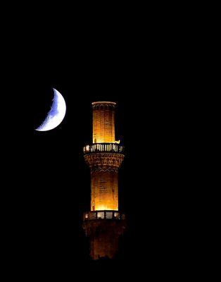 Der Mond küsst ein Minarett - ay ve minare