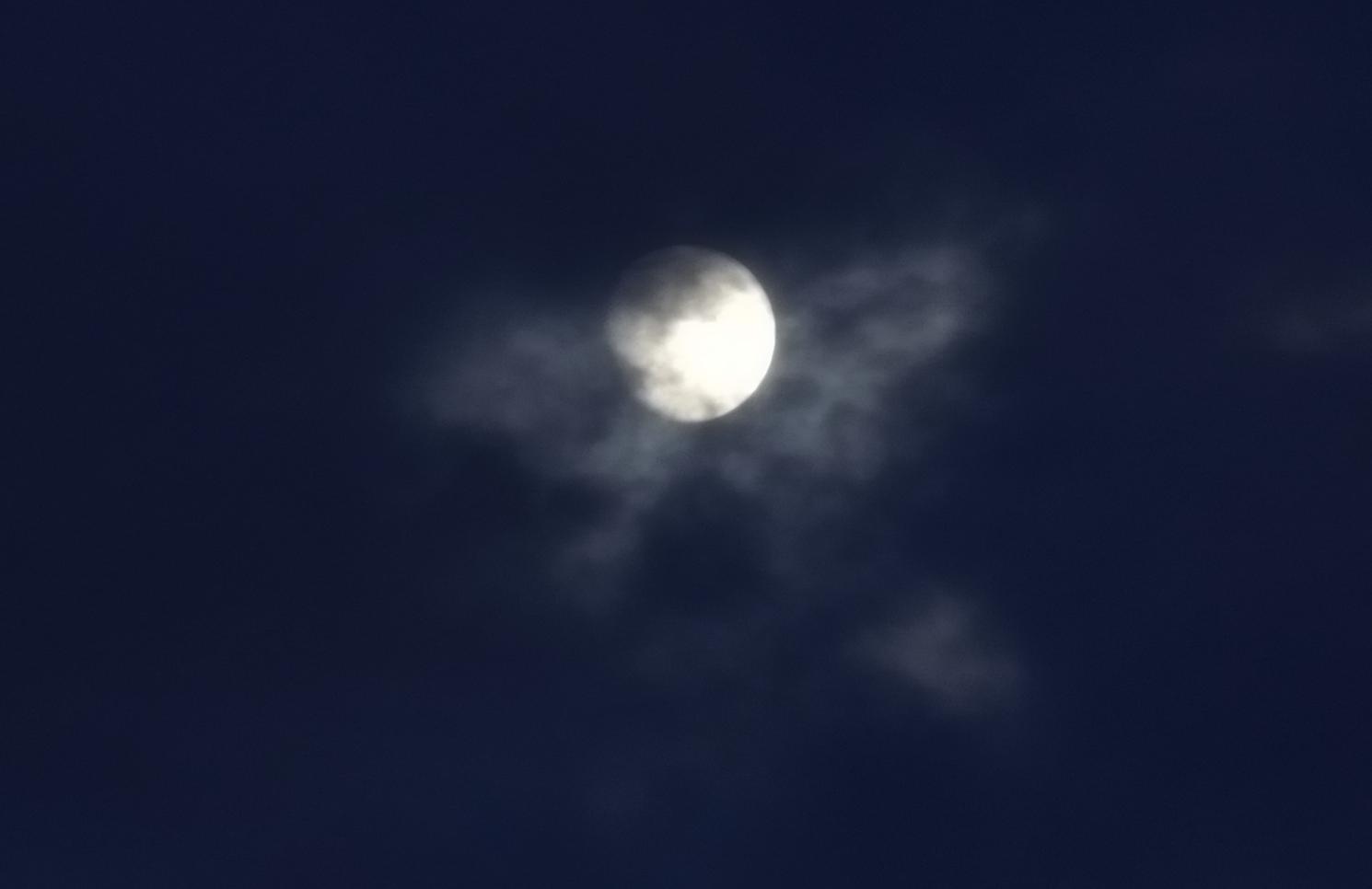 Der Mond oder doch ein Engel