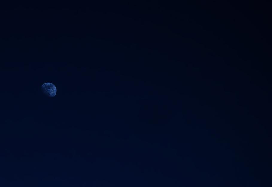 Der Mond so gut es ging :)