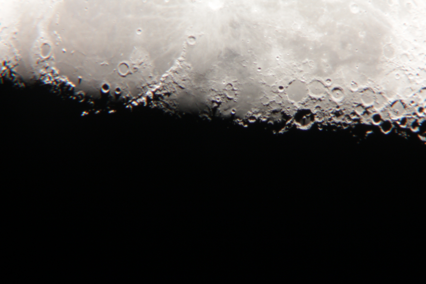 Der Mond Terminator