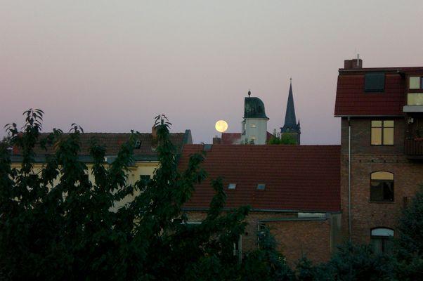 Der Mond über Aschersleben