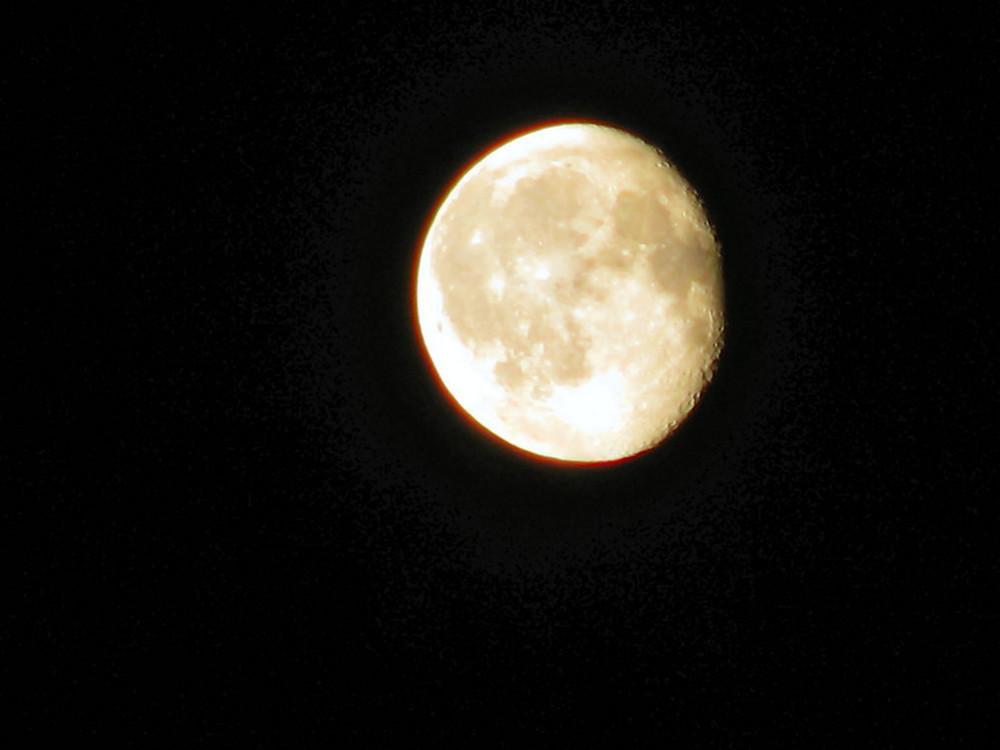 Der Mond über Berlin - 21.06.2008