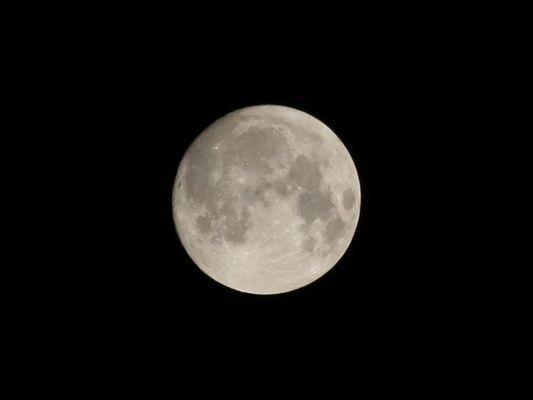 Der Mond über Braunschweig