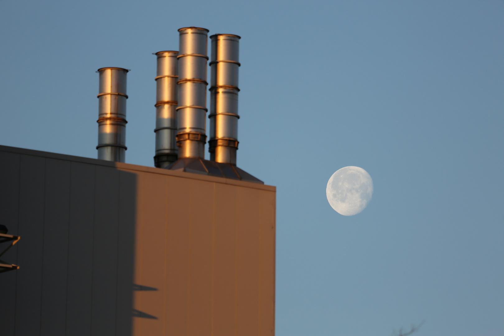 Der Mond über South Carolina