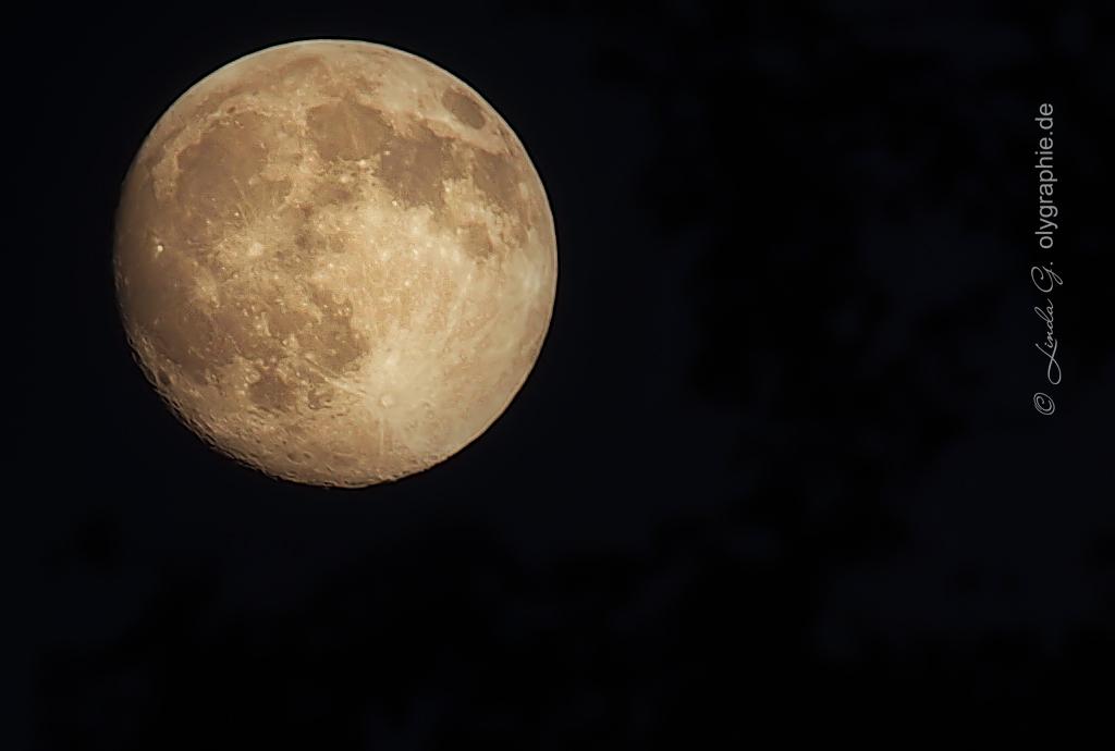 Der Mond über Travemünde