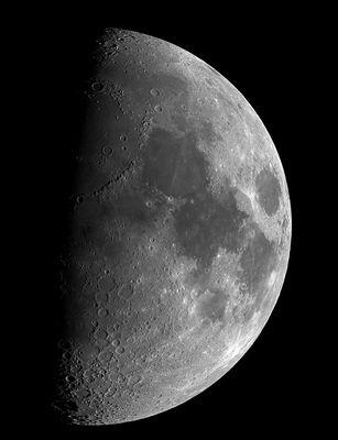 Der Mond vom 18.5.2013
