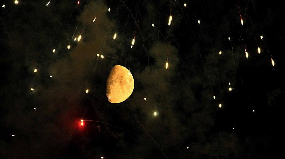 Der Mond wacht über alles...