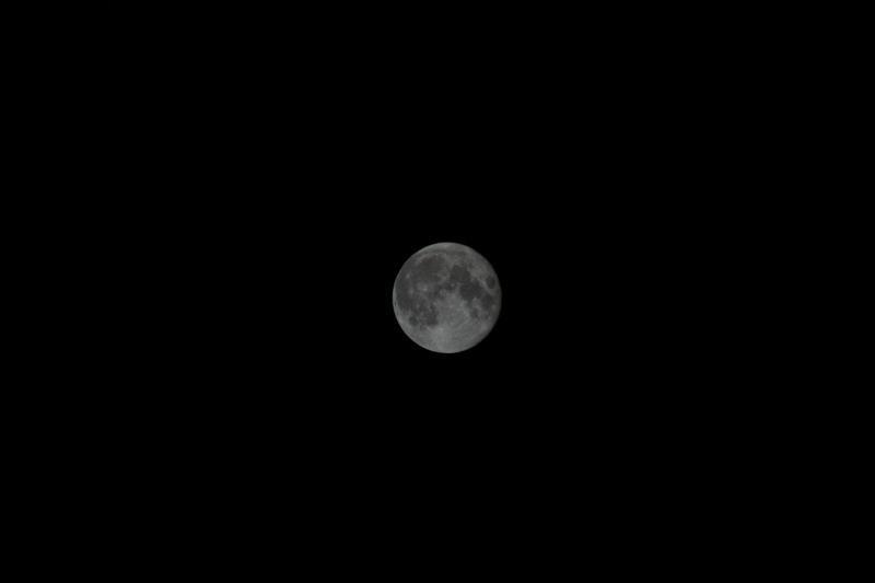 Der Mond,die zweite...