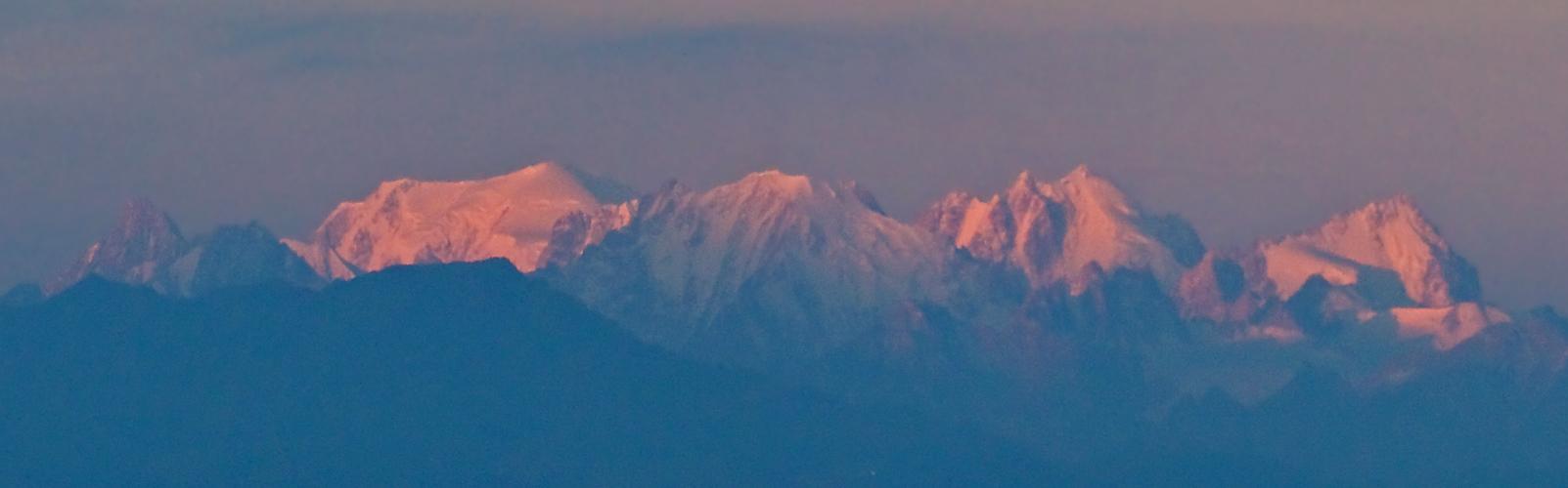 Der Mont Blanc erwacht