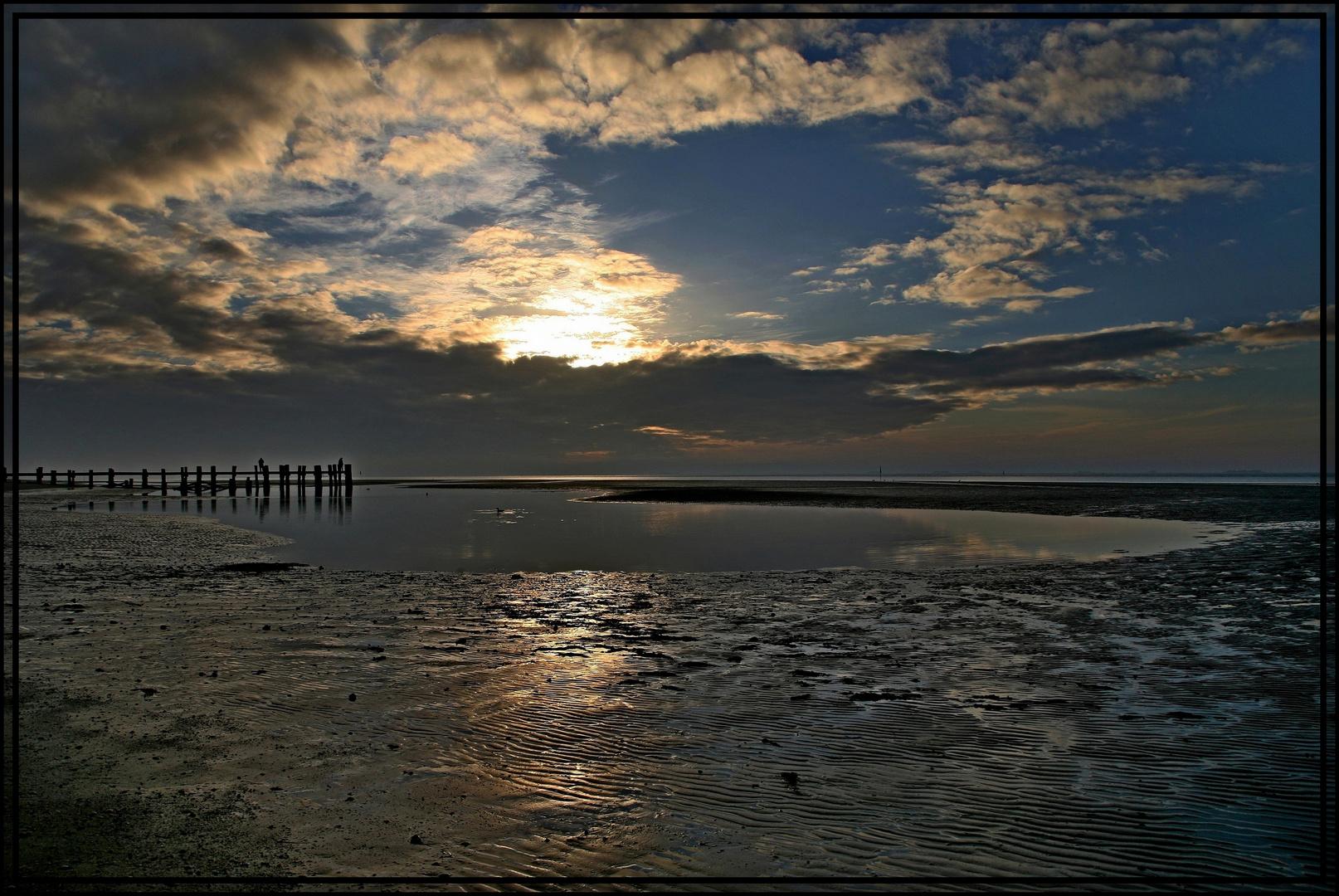 Der Morgen am Meer