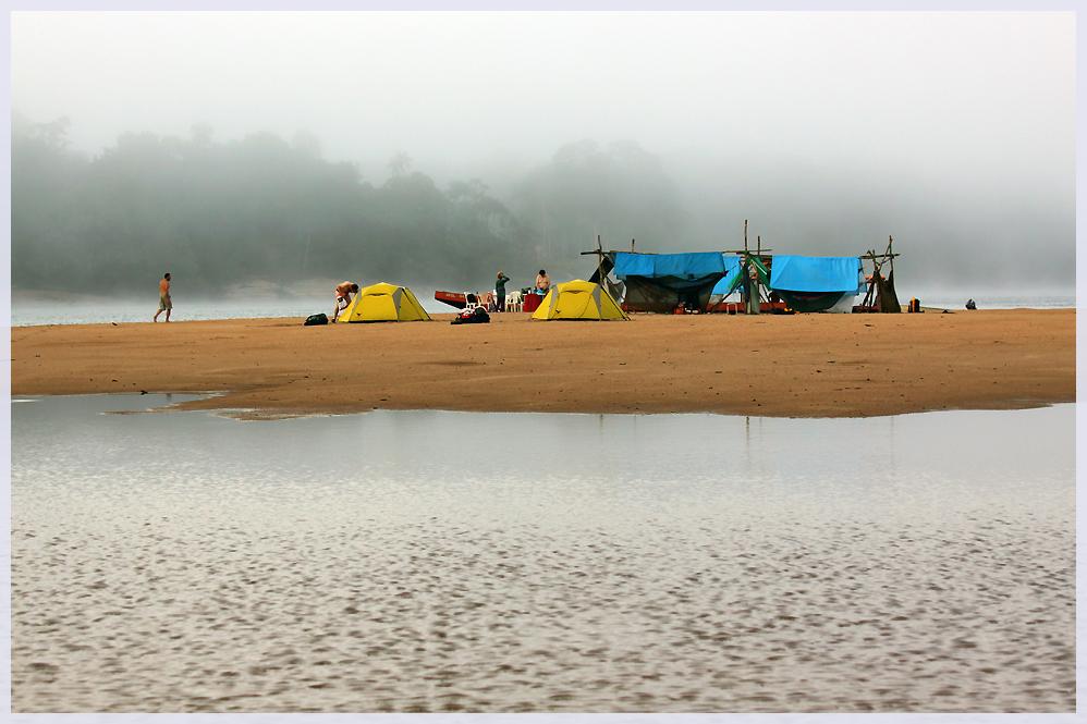 Der Morgen am Rio Casiquiare
