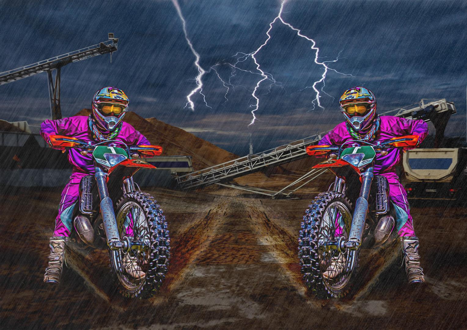 Der Motocrosser