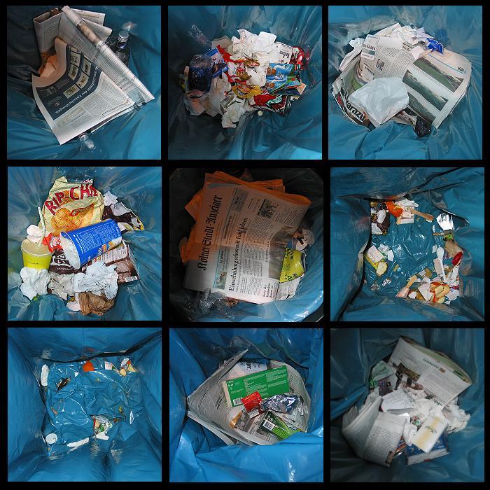 Der Müll, die Stadt und der Blitz
