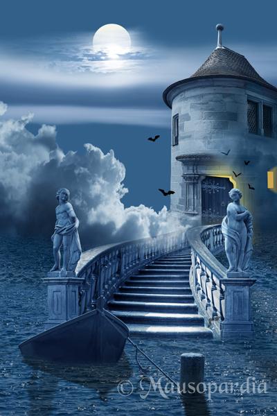 Der mystische Turm Foto & Bild | fotomontage, fantasy ...