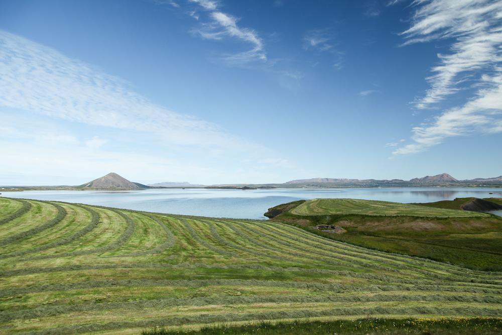 Der Myvatn auf Island