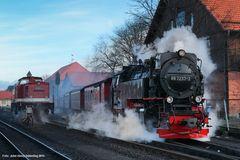 Der N 8903 verlässt Wernigerode