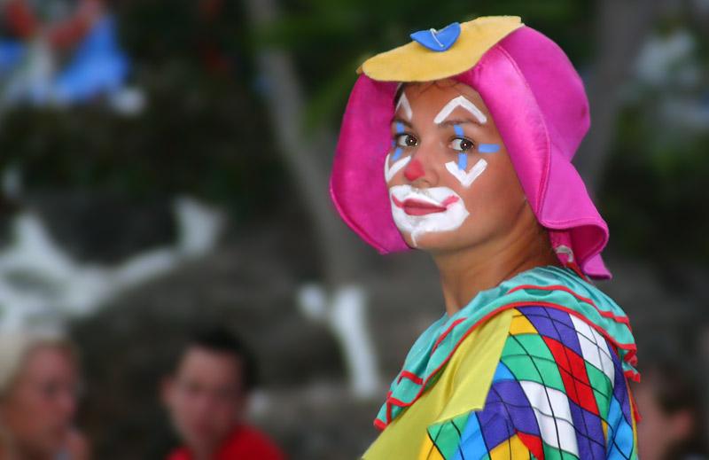 der nachdenkliche clown