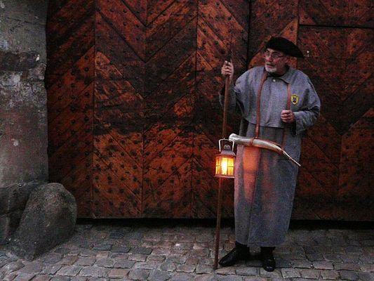 Der Nachtwächter von Quedlinburg.......
