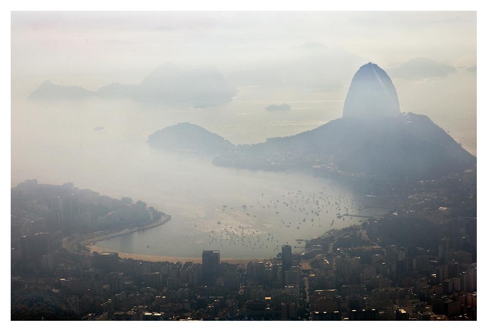 Der Nebel ist der Weichzeichner der Natur - der Zuckerhut von Rio de Janeiro