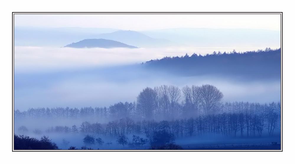 der Nebel kommt...