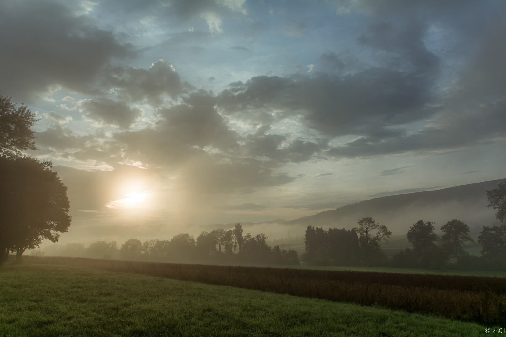 Der Nebel kommt und geht