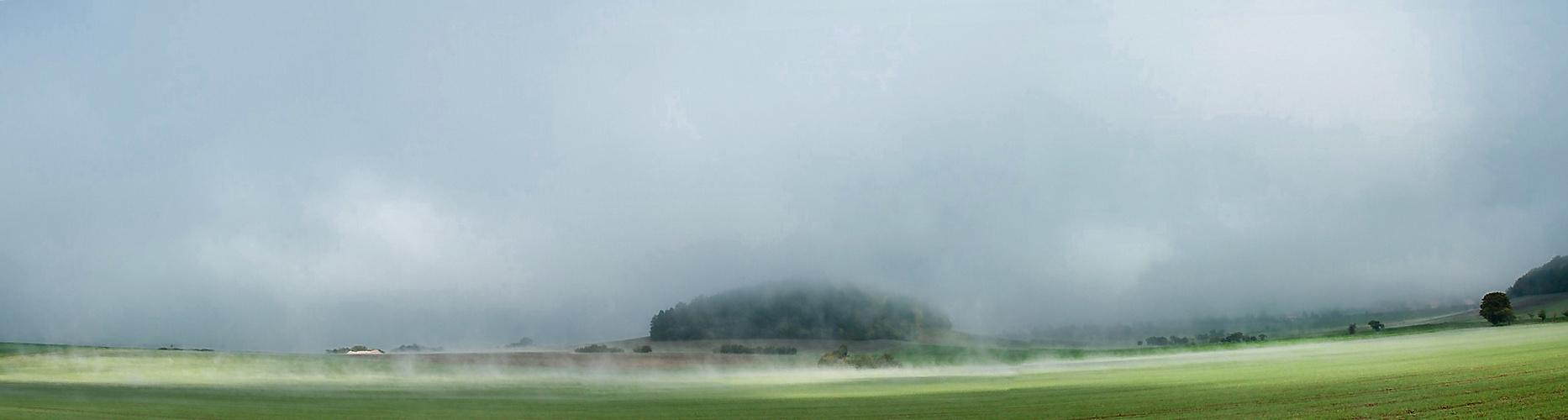 Der Nebel löst sich auf