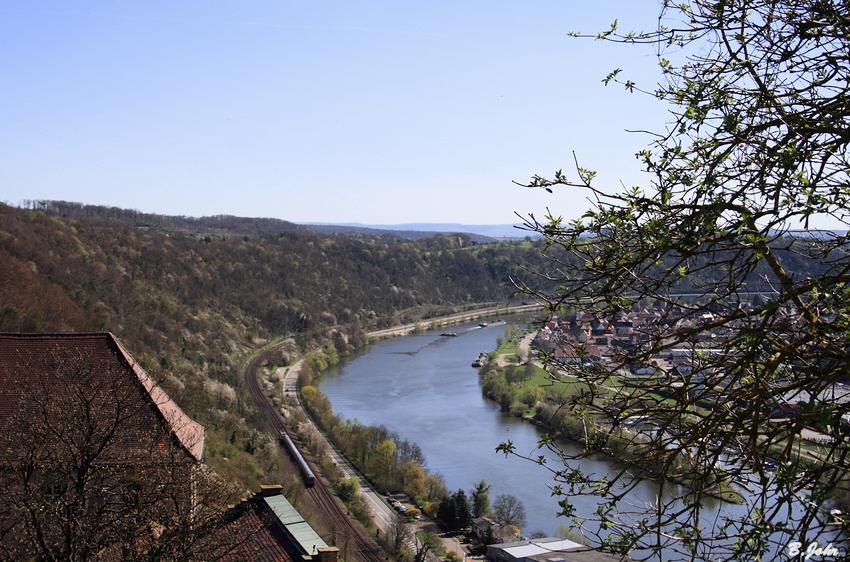 Der Neckar bei Neckarzimmern