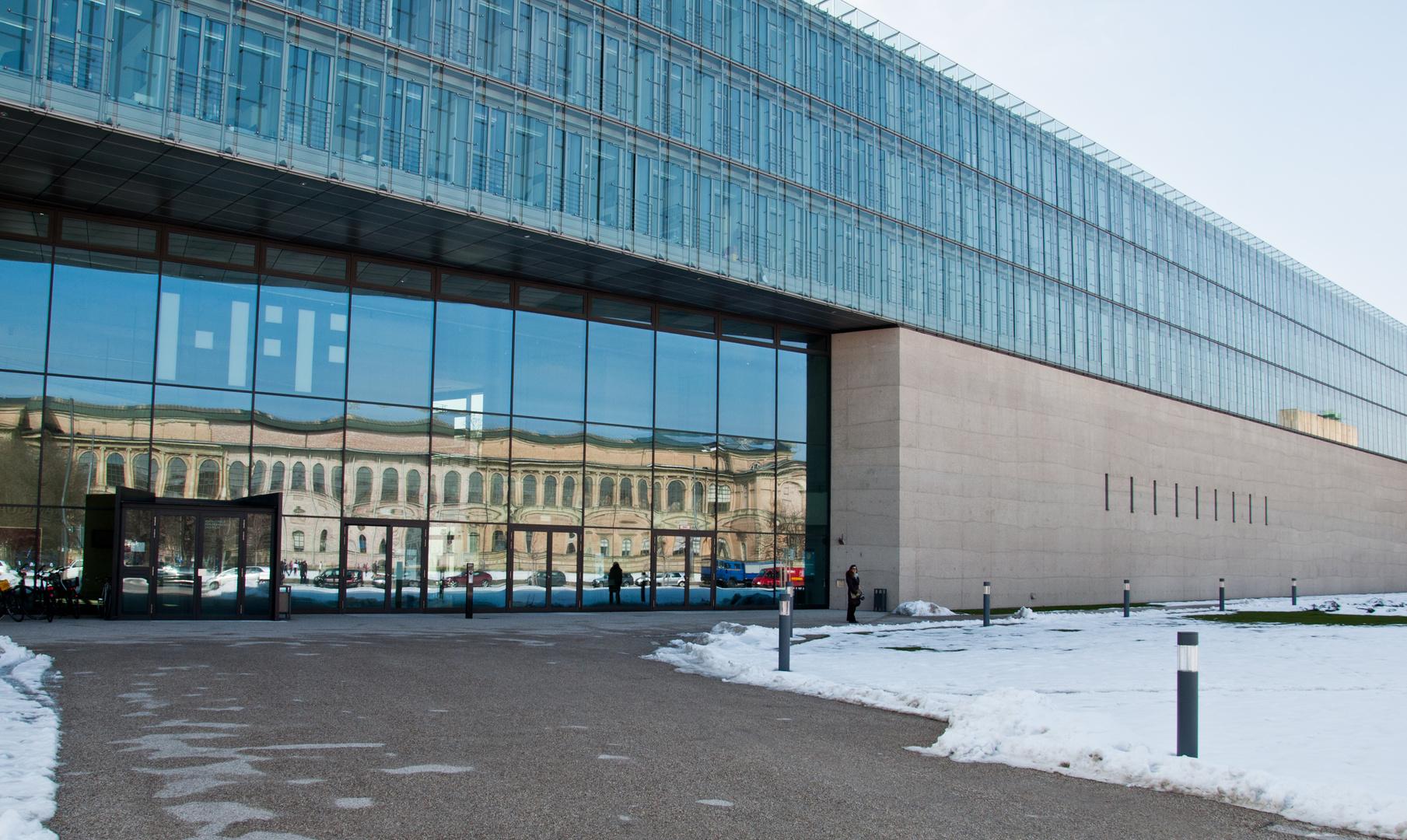 Der Neubau des Staatlichen Museums Ägyptischer Kunst