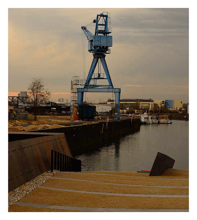 der neue Hafen...