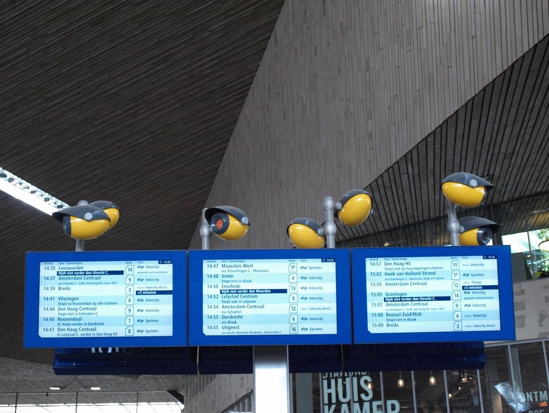 Der Neue Hauptbahnhof von Rotterdam-8-Ende-