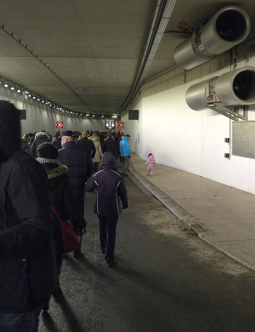 Der neue Kö-Bogen-Tunnel