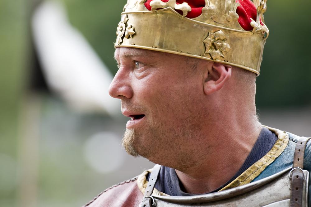 . . . der neue König . . .