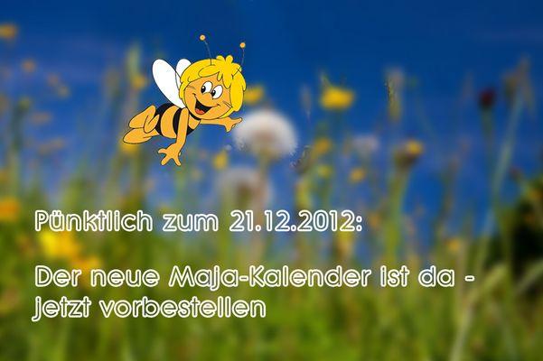 Der neue Maja-Kalender ist da