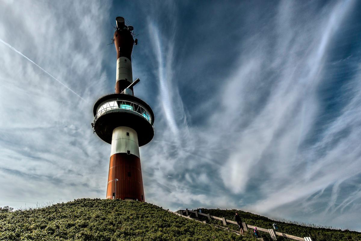 Der neue Turm von Wangerooge