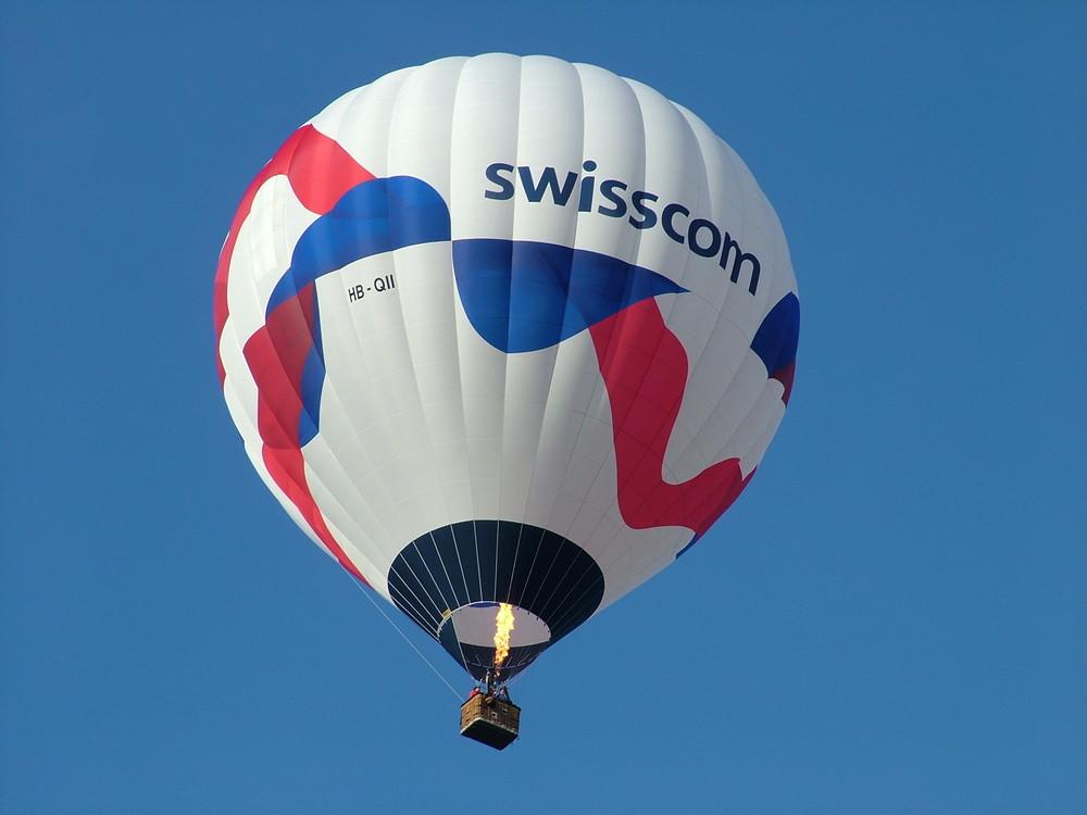 Der neuste Ultra Magic Ballon in der Schweiz
