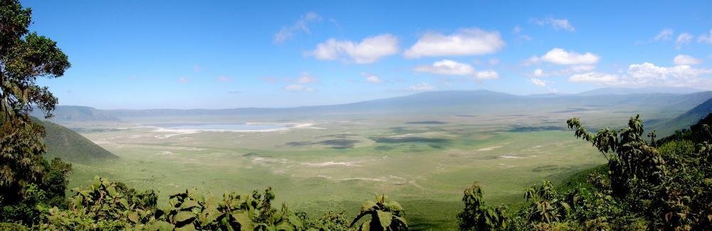Der Ngorongoro-Krater