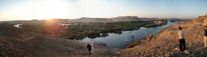 Der Nil bei Asswan