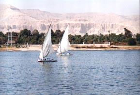 Der Nil bei Luxur