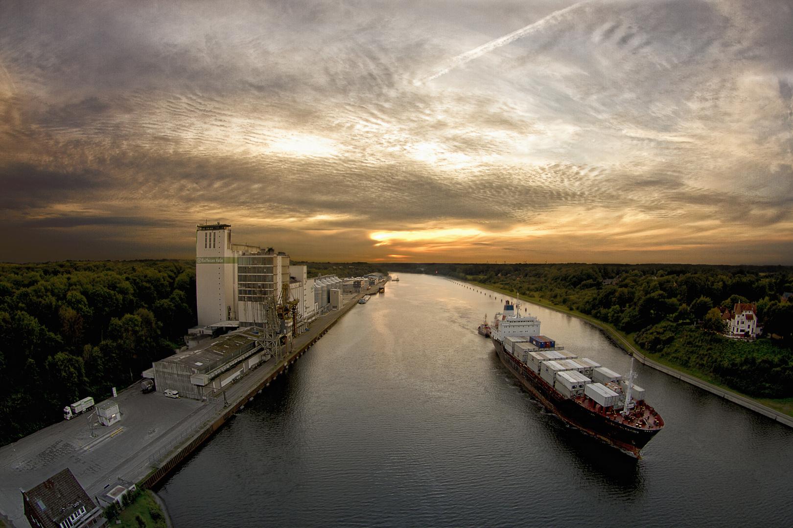 Der Nord - Ostsee - Kanal