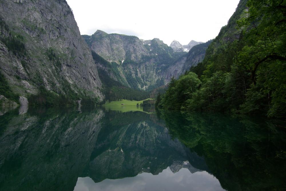 Der Obersee hinter dem Königsee