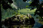 Der Obersee hinter der Salet-Alm
